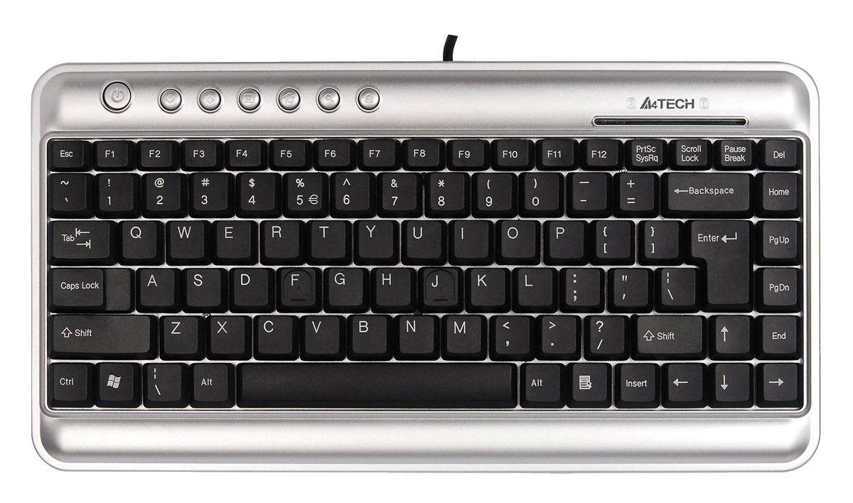 A4tech Kl 5 Usb Compact Keyboard Uk Layout
