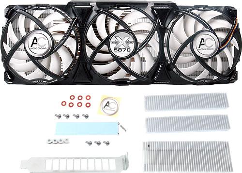 Accelero Xtreme 5870 ATI HD5870 VGA cooler