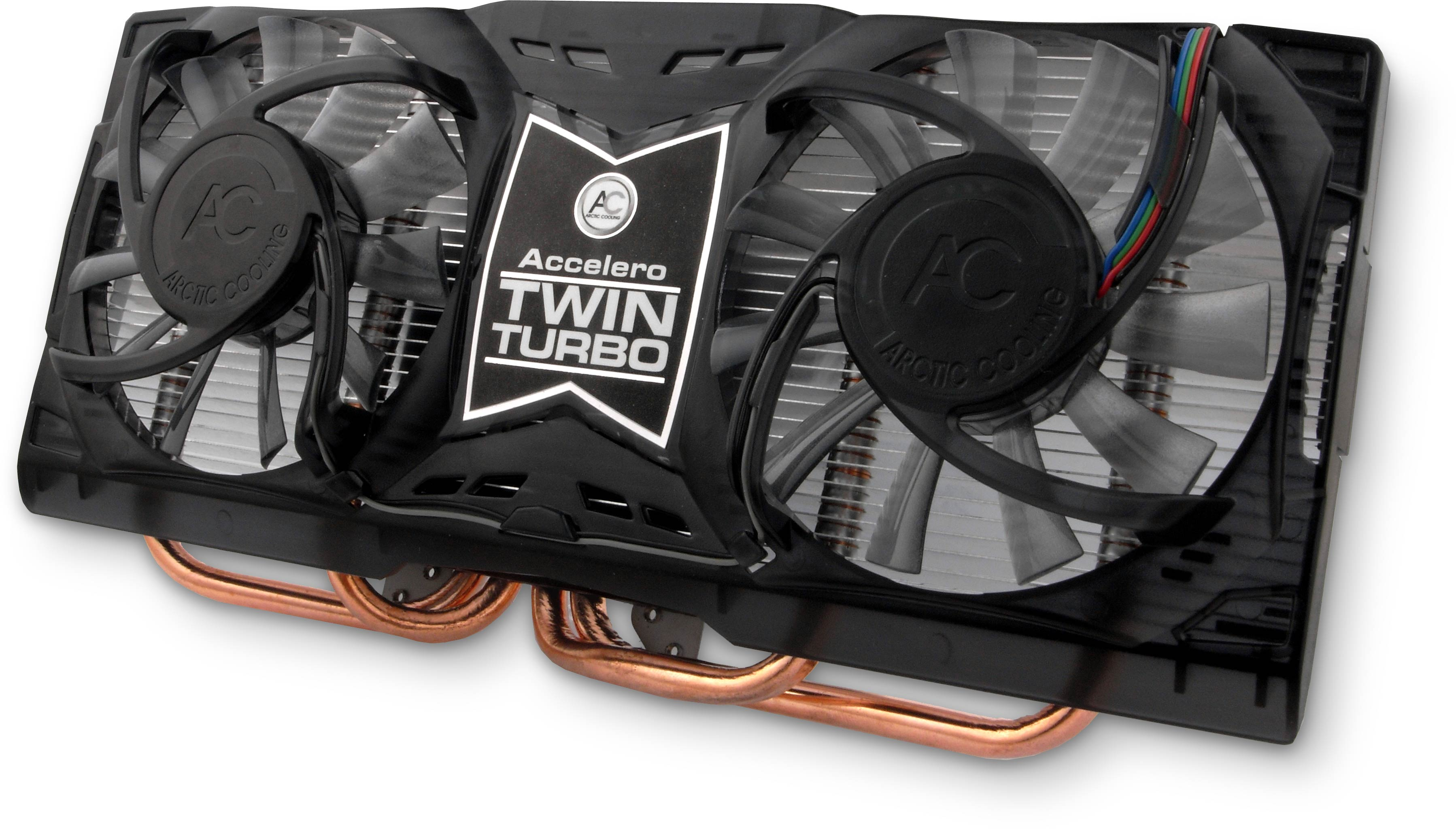 Accelero Twin Turbo Dual Fan Vga Cooler Ac Wiring Electric Fans Arctic Cooling