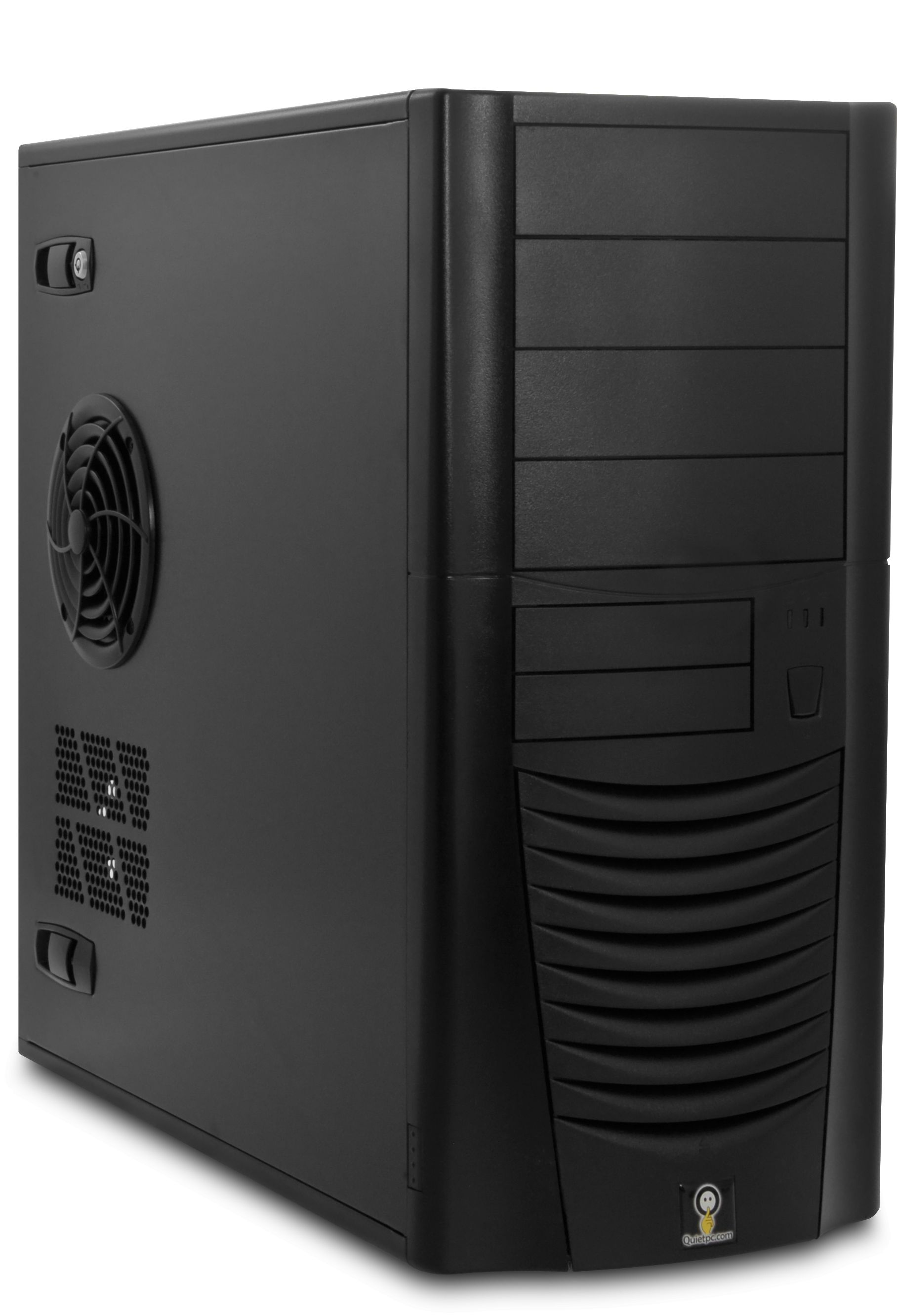 Acousticase Classic C6607b Black Soundproof Tower Case