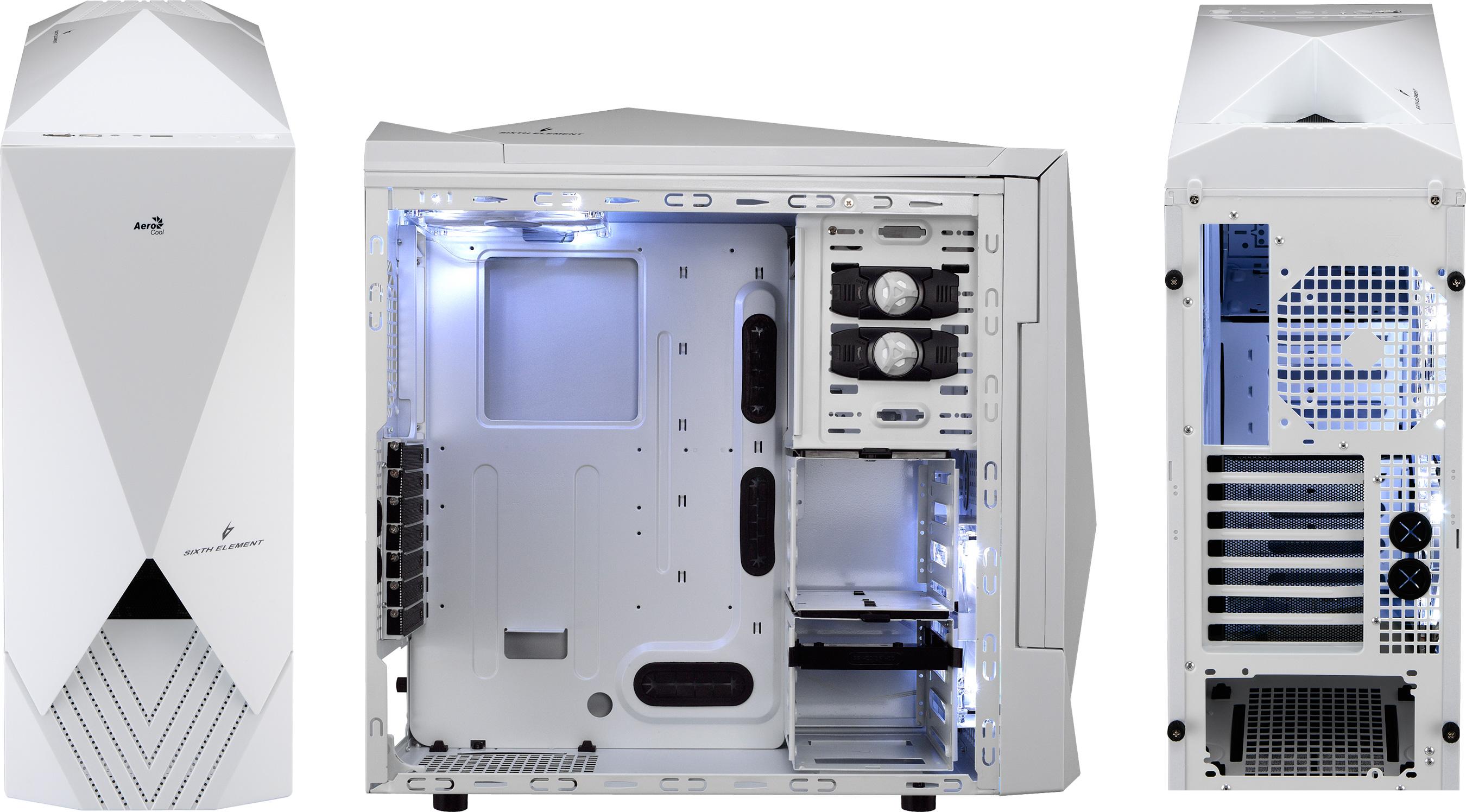Aerocool Sixth Element Computer Cases