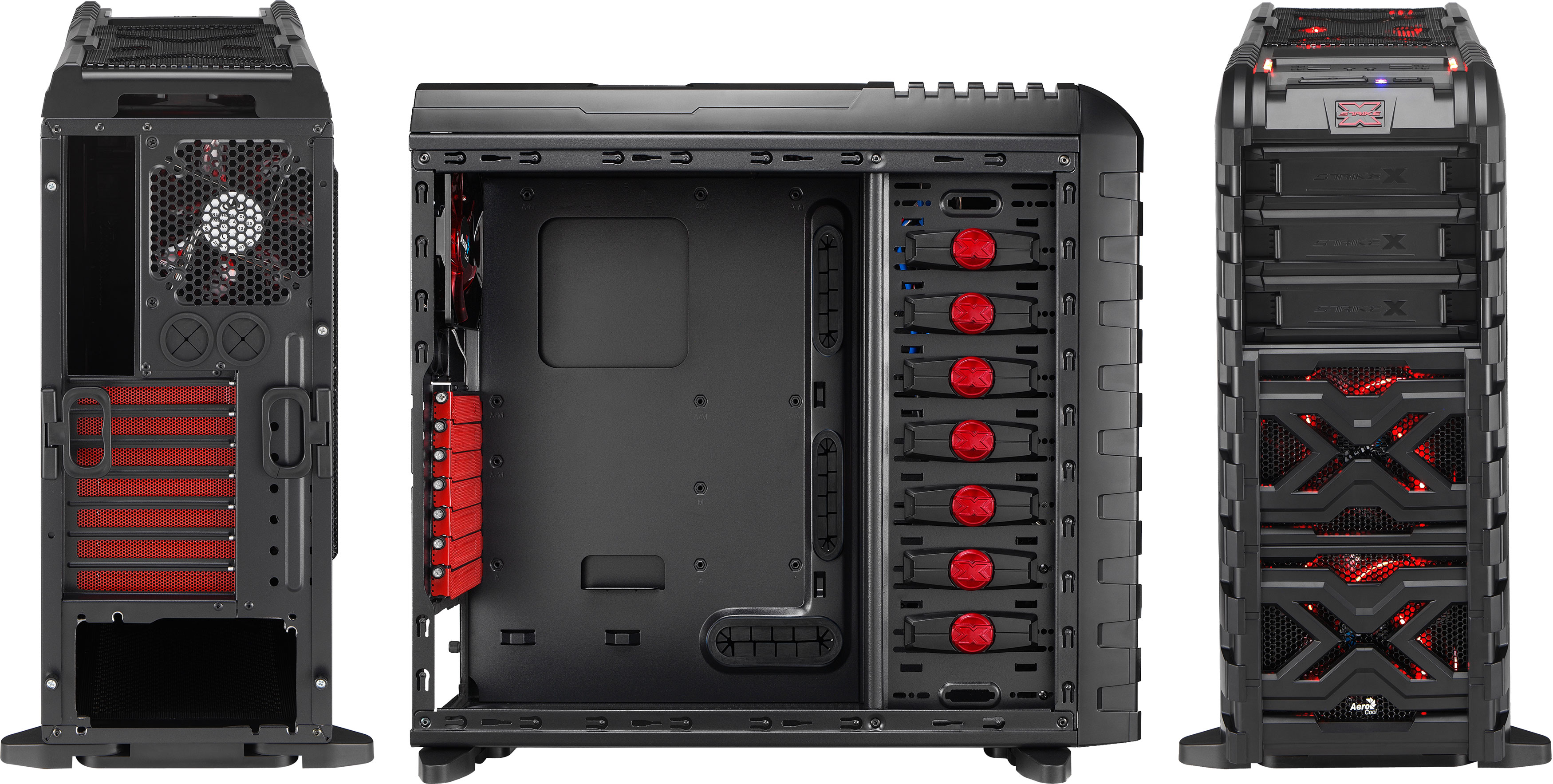 Aerocool Strike X Gt Gaming Tower Cases
