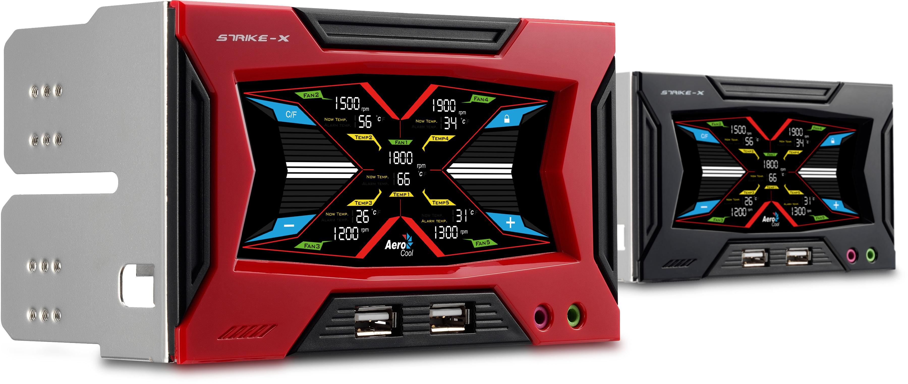 Strike X Panel Lcd Touch Screen Fan Controller