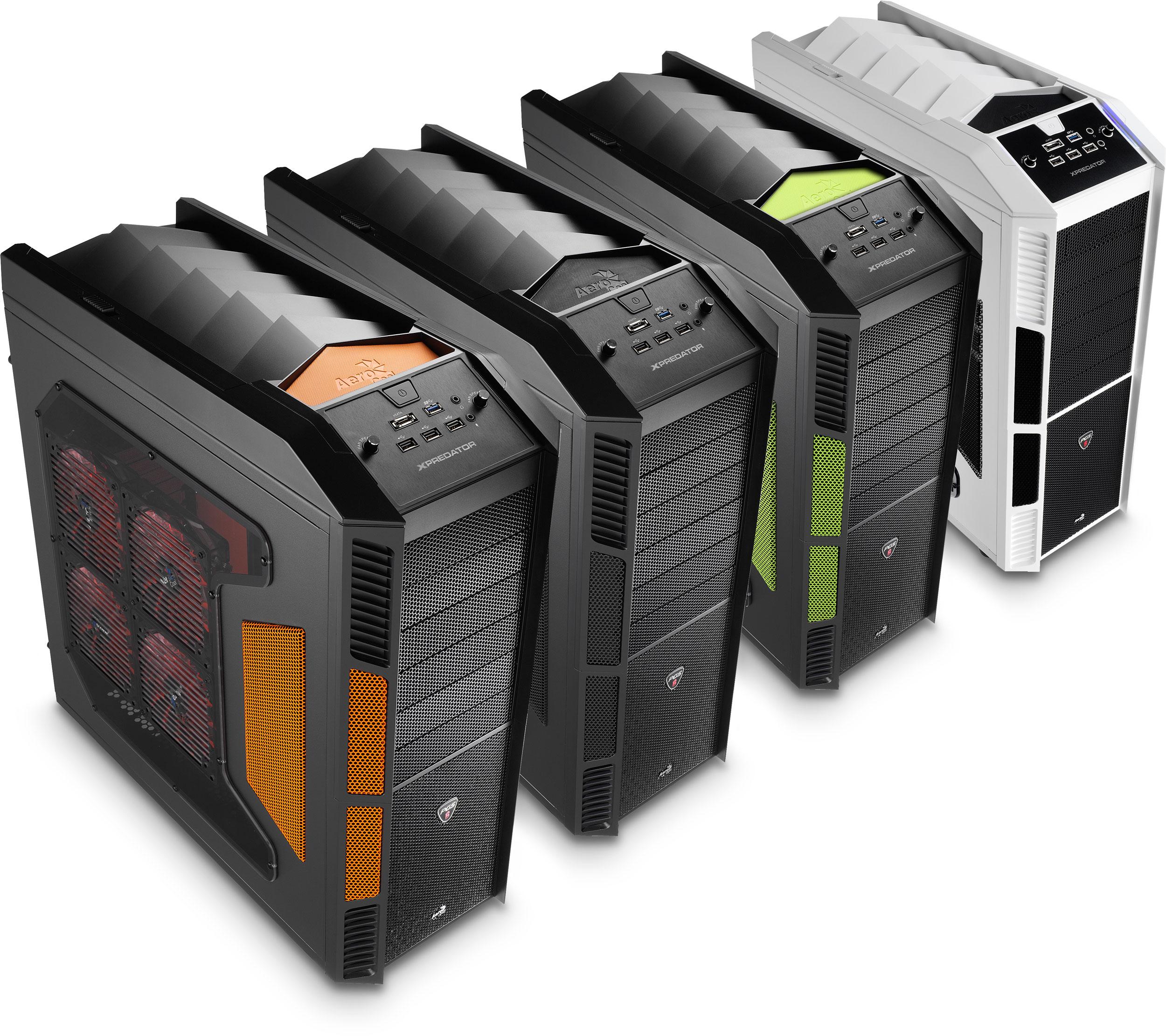 AeroCool's X-Predator Ultimate Gaming Cases