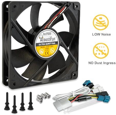 AcoustiFan: DustPROOF 120mm fan