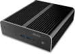 Newton S7 Fanless 7th Gen NUC Chassis, supports 2.5in drive