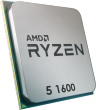 Ryzen 5 1600 3.2GHz 65W 6 Cores 12 Threads 16MB Cache AM4 CPU