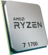 AMD Ryzen 7 1700 3.0GHz 65W 8 Cores 16 Threads 16MB Cache AM4 CPU