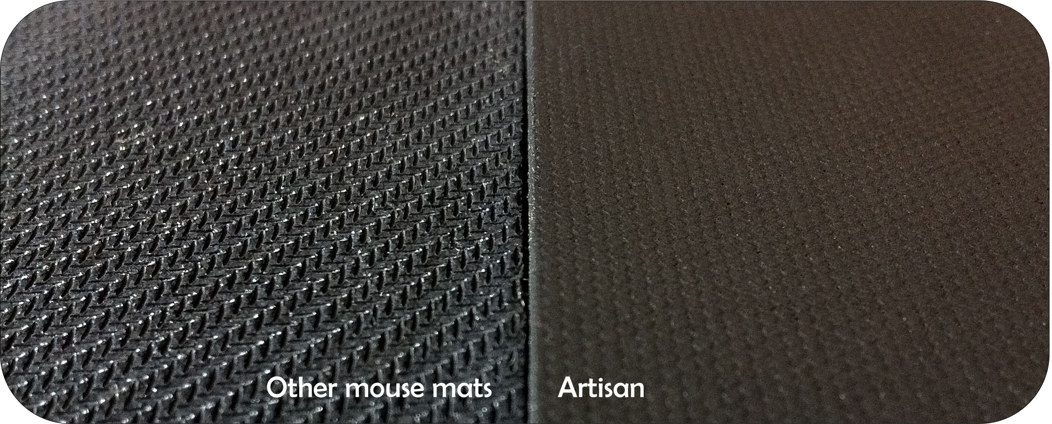 Artisan Shiden Glass Coated Ultimate Gaming Mouse Pads