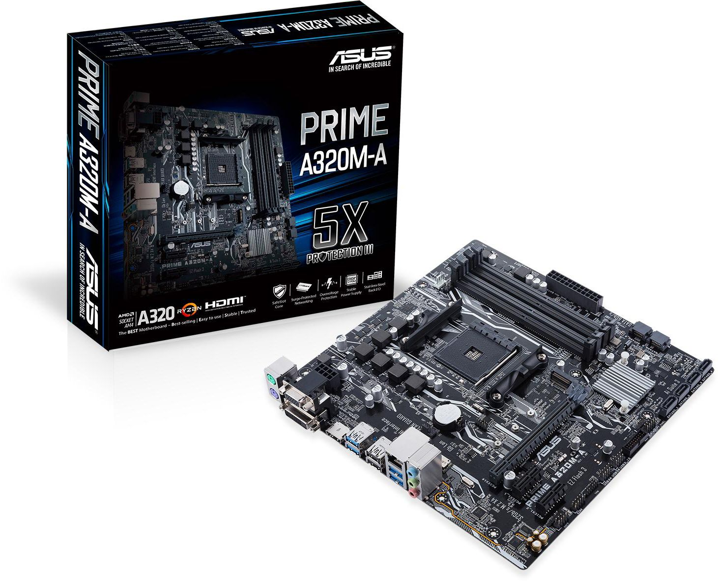 DRIVERS UPDATE: ASUS PRIME A320M-A MOTHERBOARD