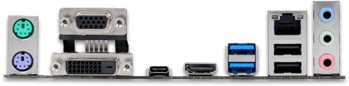 Rear motherboard ports