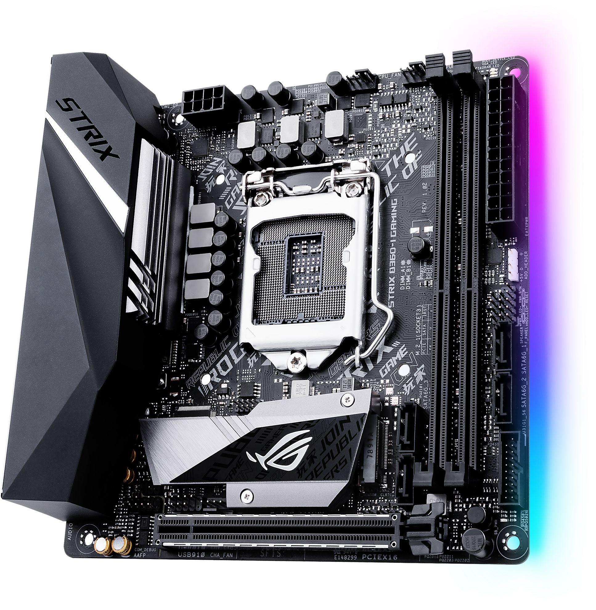 ROG STRIX B360-I GAMING LGA1151 Mini-ITX Motherboard