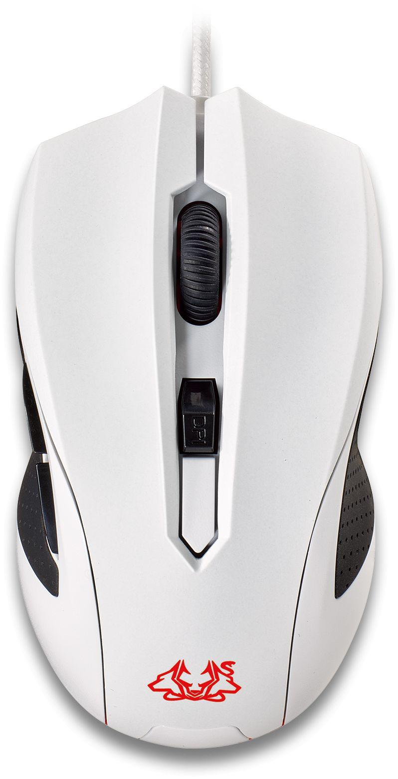 Cerberus Arctic 5-button Ambidextrous Mouse