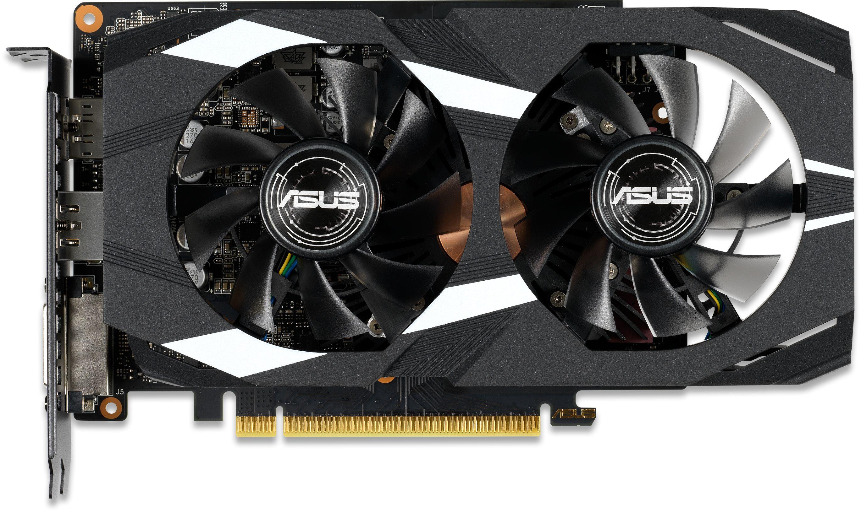 GeForce GTX 1660 Ti DUAL OC Edition 6GB Graphics Card
