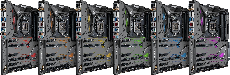 MAXIMUS VIII FORMULA LGA1151 ATX RGB Motherboard
