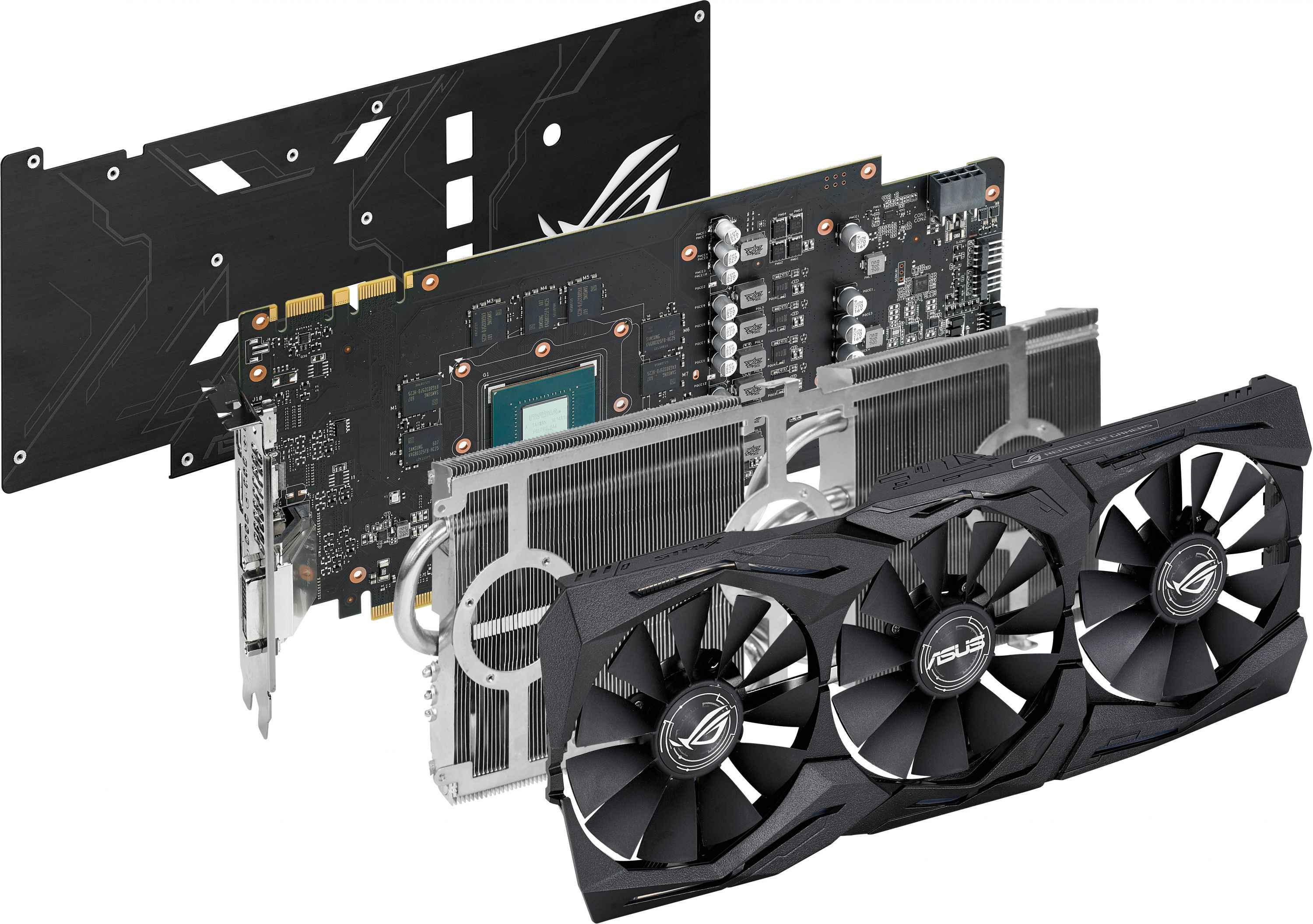 GeForce GTX 1070 ROG STRIX 8GB GDDR5 Graphics Card