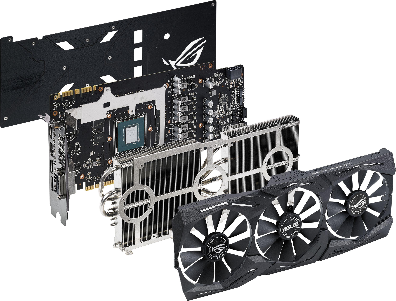 GeForce GTX 1070 Ti ROG STRIX 8GB GDDR5 Gaming Graphics Card