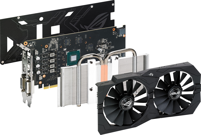 GeForce GTX 1050Ti ROG STRIX 4GB GDDR5 Graphics Card