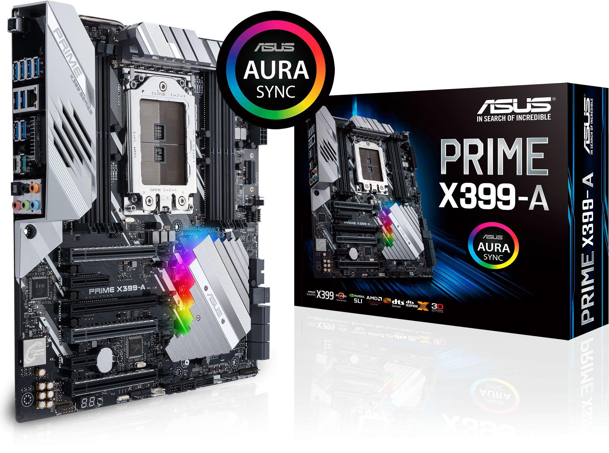 Prime X399 A Amd Sockettr4 Eatx Motherboard