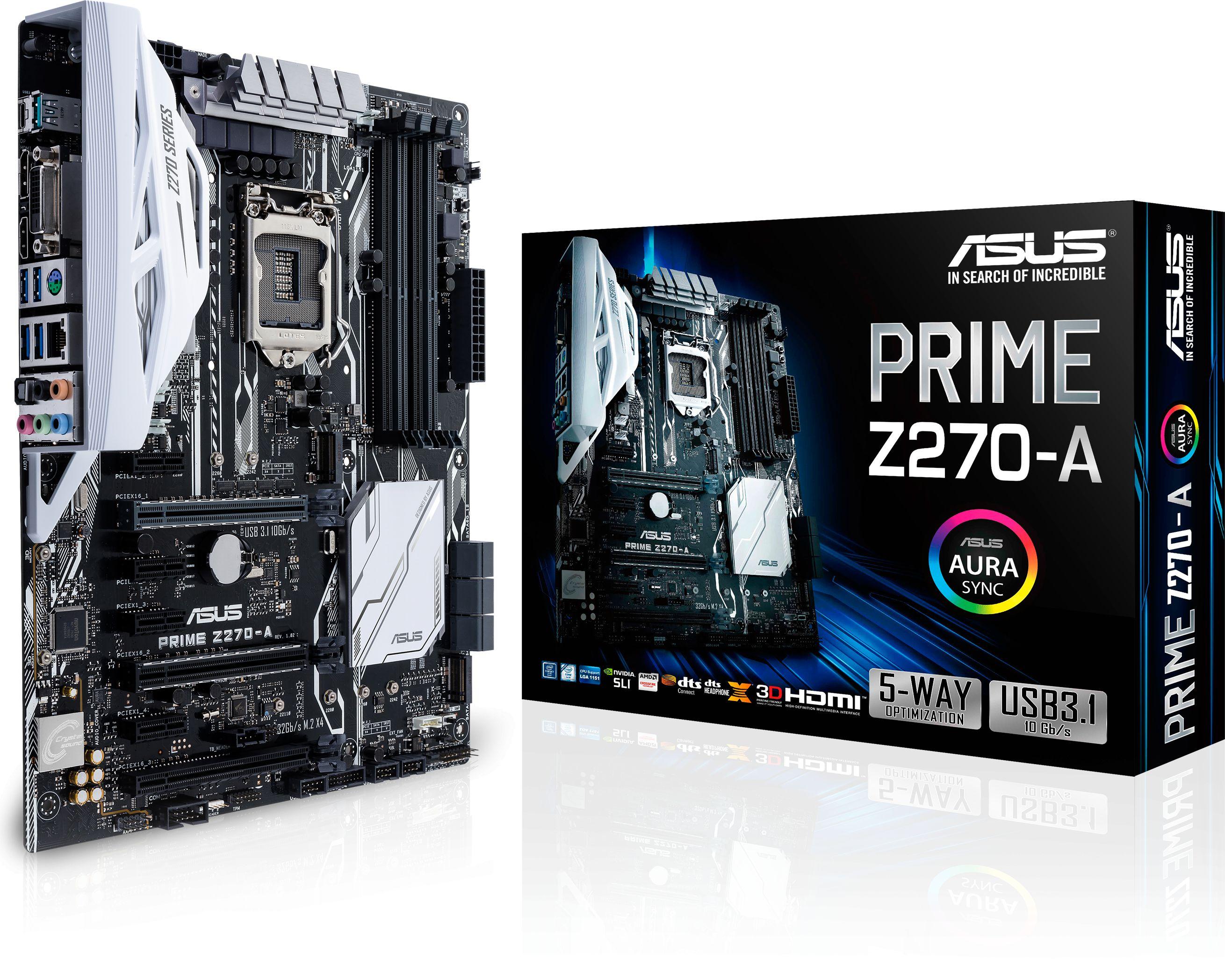 PRIME Z270-A LGA1151 ATX Motherboard