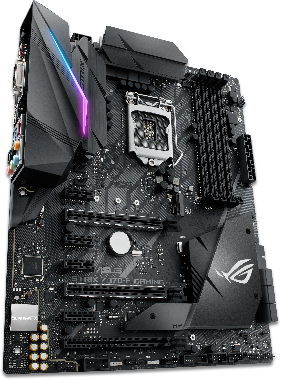 ROG STRIX Z370-F GAMING LGA1151 ATX Motherboard