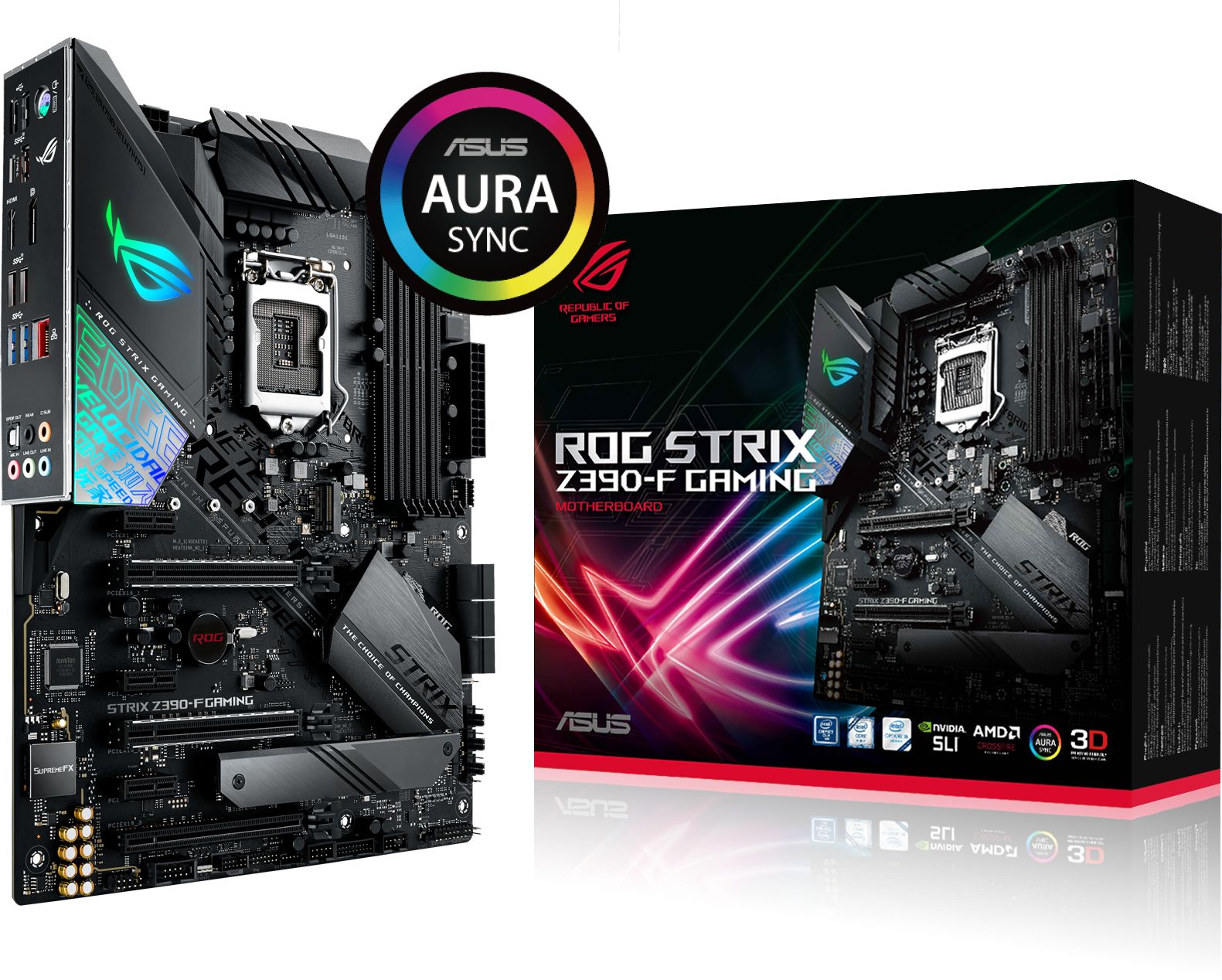 motherboard specs for gaming
