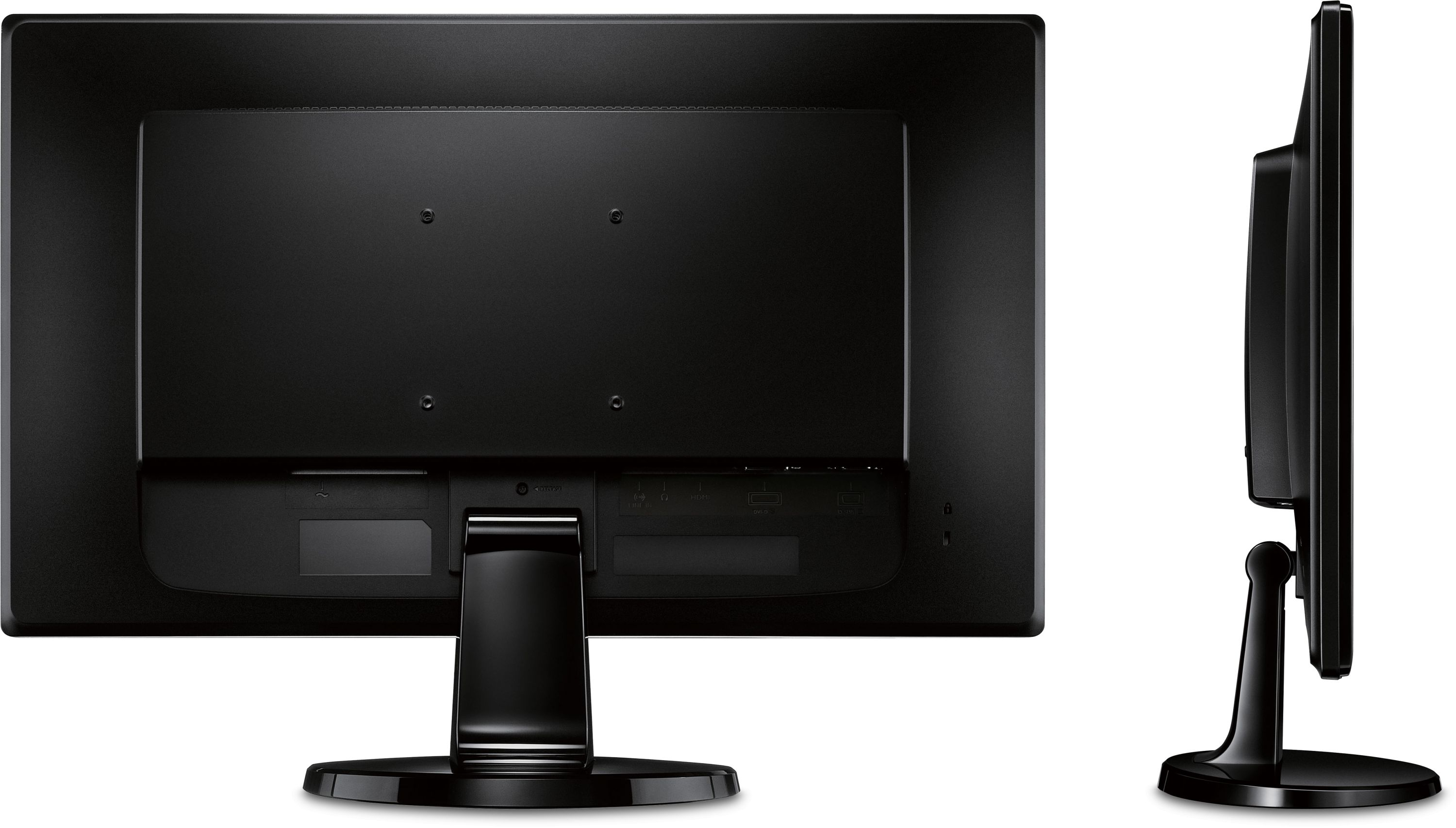 Back To Back Monitor : Gl hm in led monitor cd m ms hdmi dvi