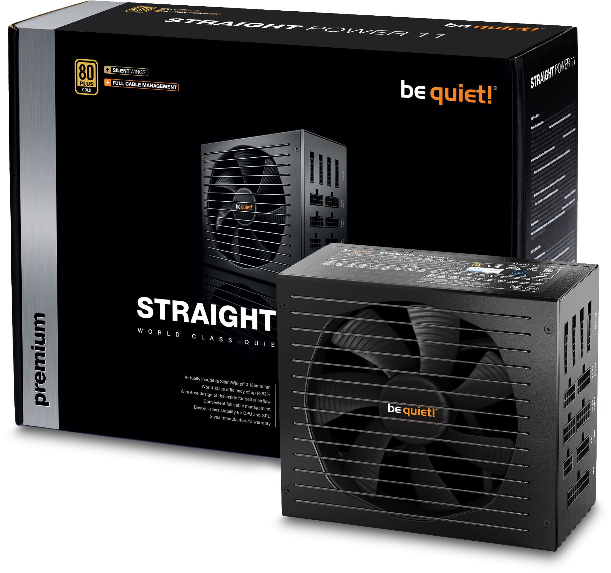 Sp Power Supply Advance 450 W Wat Cpu Pc 450w Daftar Harga Pro 470watt Psu 470w Komputer Watt Source The Be Quiet Straight 11 Series Raises Bar For Systems That Demand Virtually Inaudible