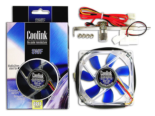 Coolink SWiF-801 80mm Case Fan