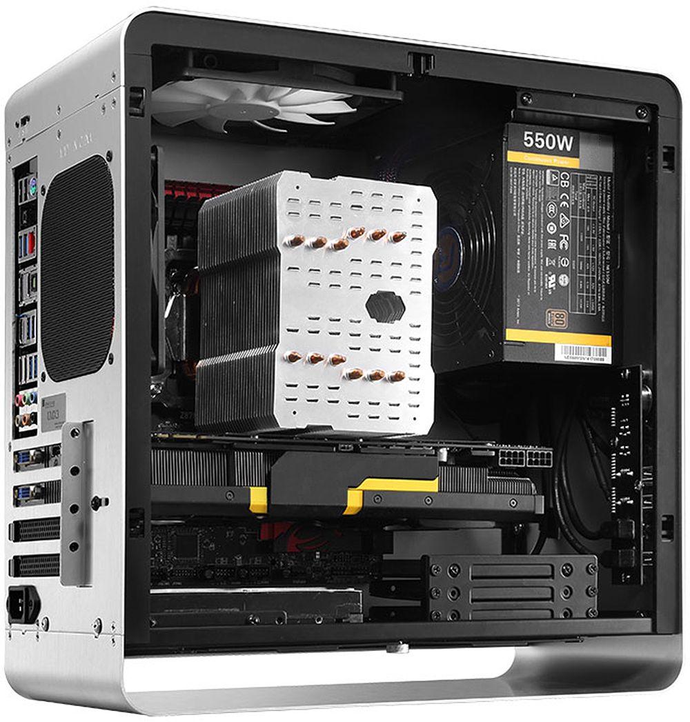 Jonsbo Umx3 Zone Compact Micro Atx Aluminium Cases