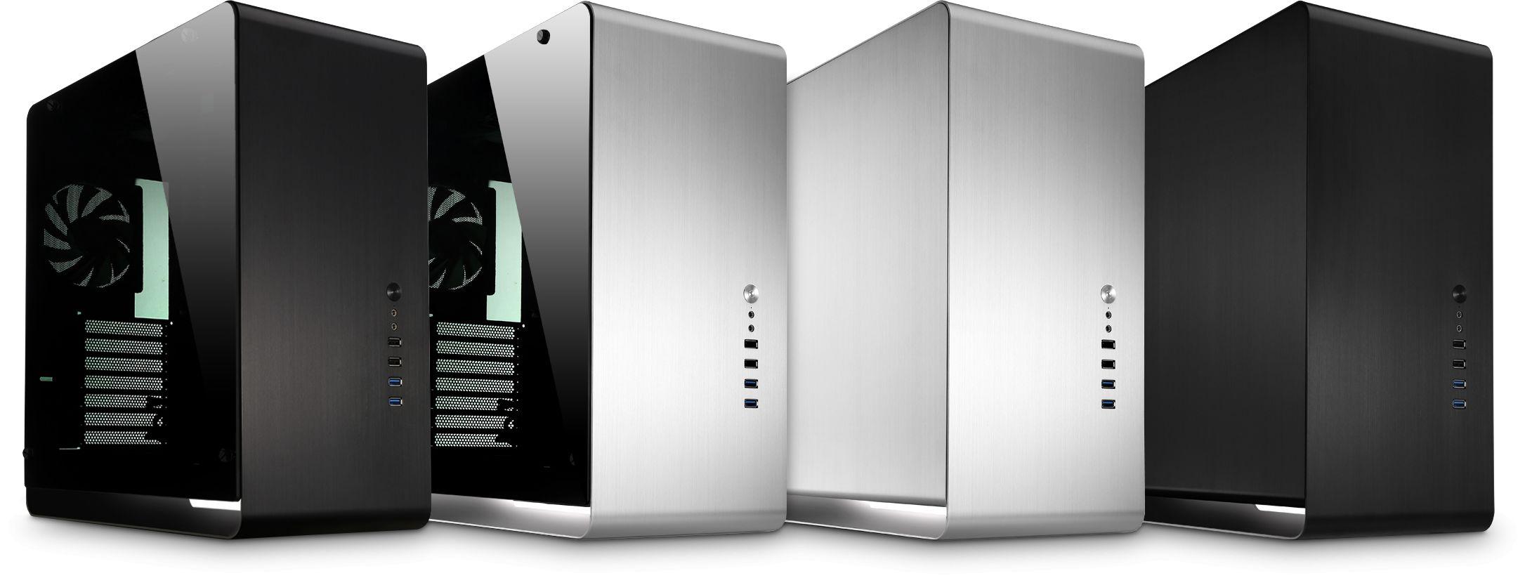 Jonsbo UMX4 Zone Compact Midi Tower Aluminium Cases