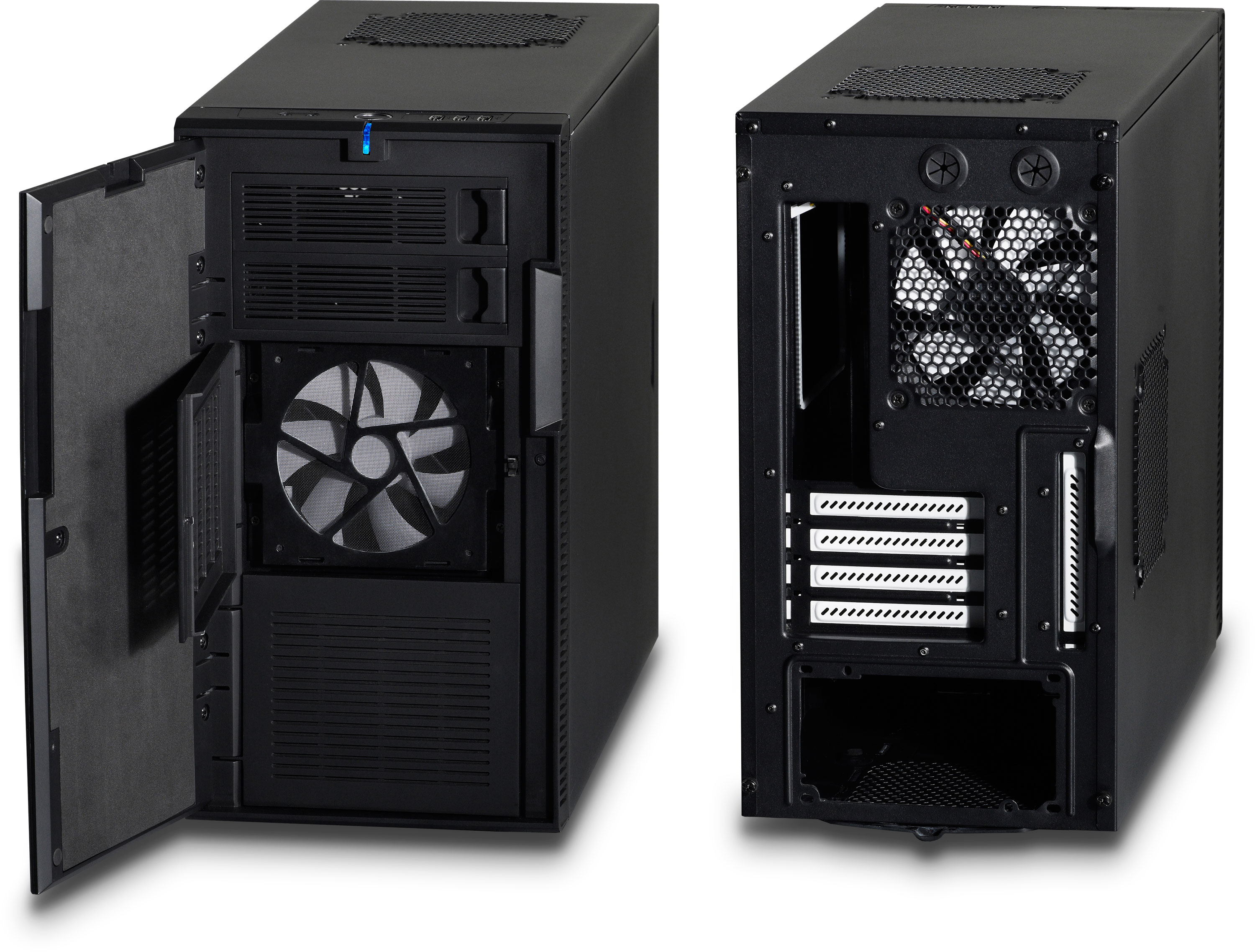define mini black computer case