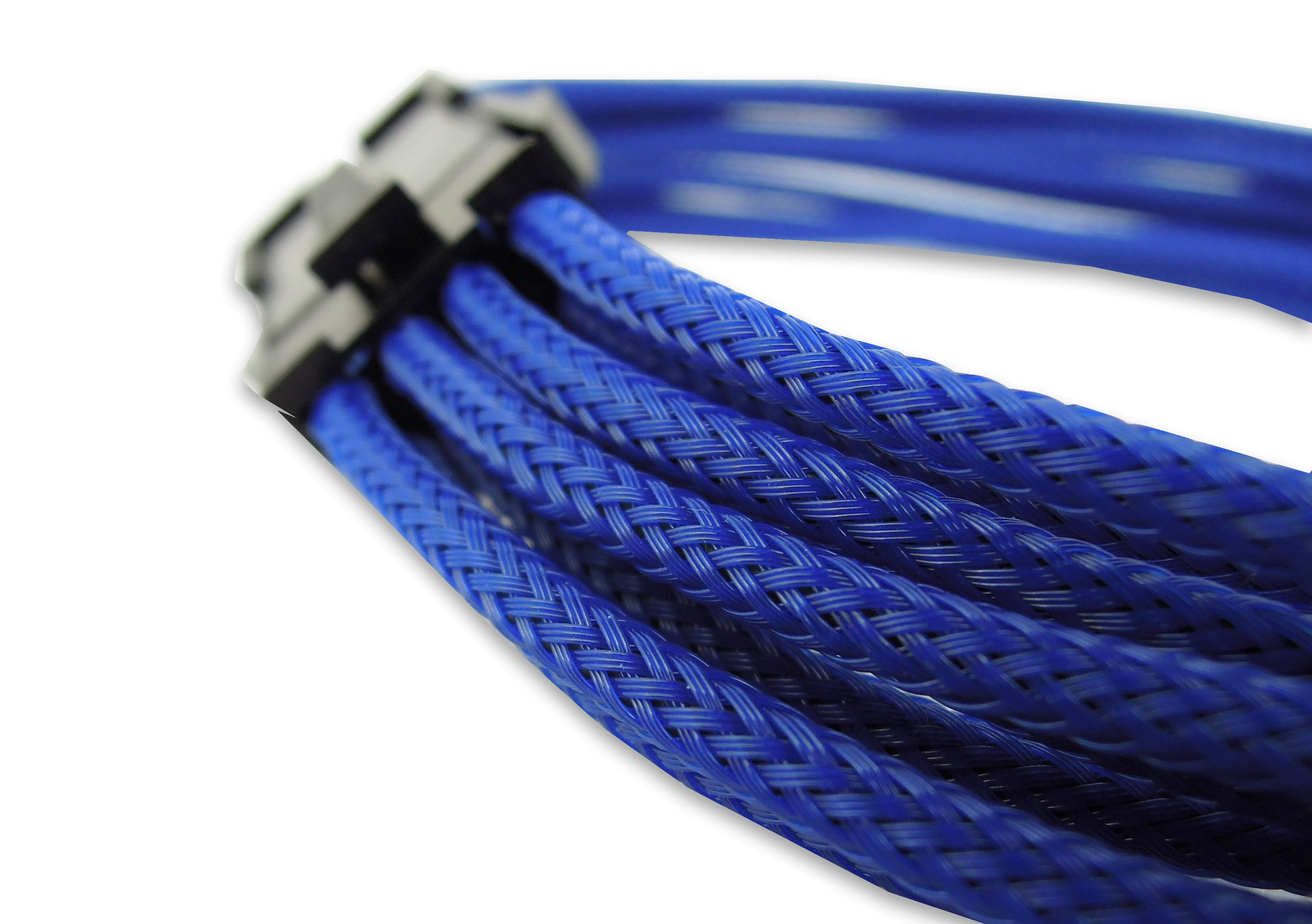Blue 8 Pin Eps 30cm Extension Braided Cable Pc Motherboard Internal Bitfenix Atx 24 Red Black 30 Cm 12v Sleeved
