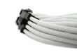 White Braided 8-pin EPS Extension