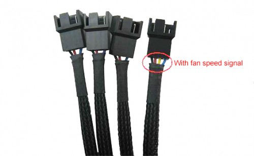 1 To 4 Pwm Fan Splitter