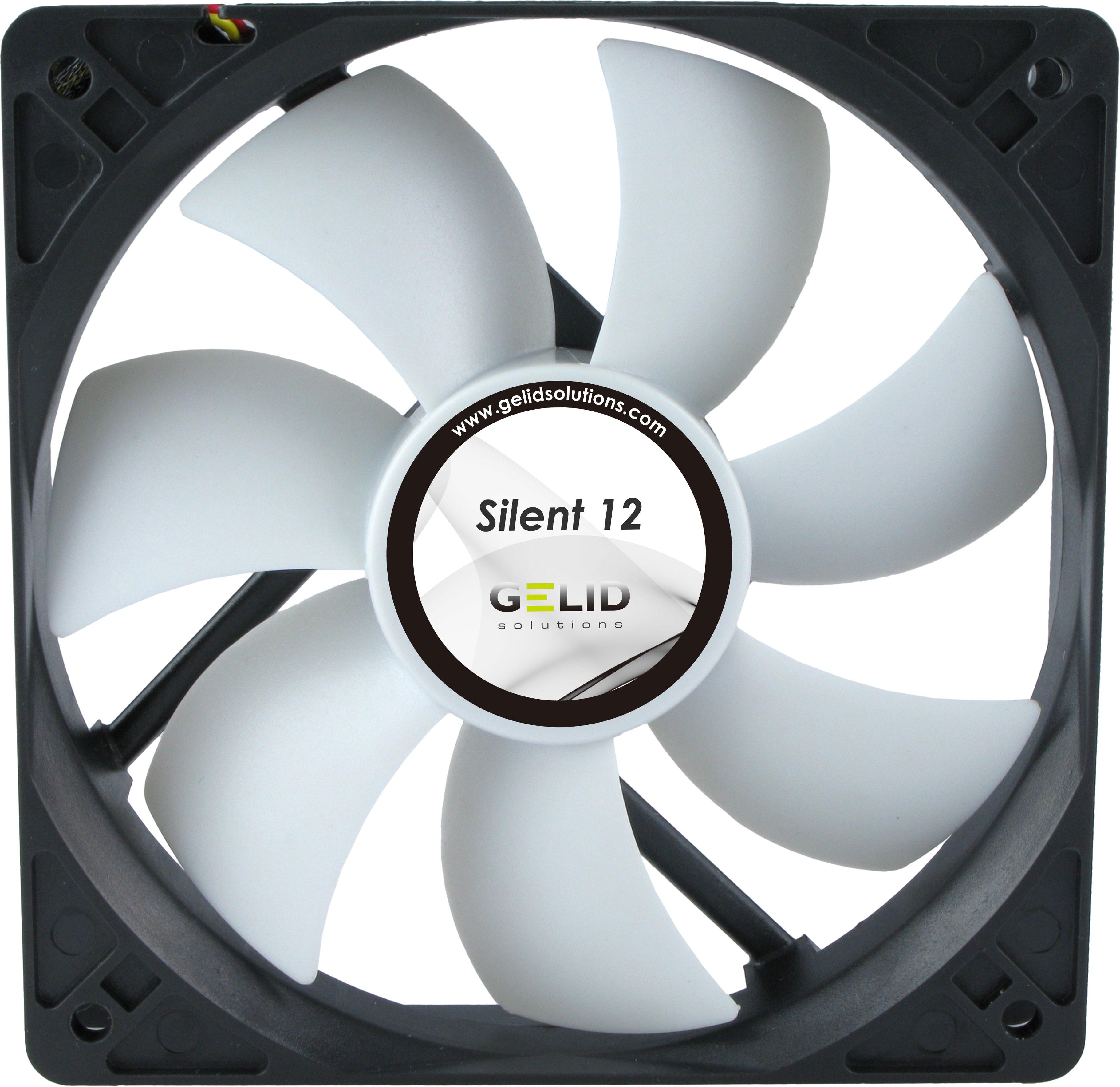 Silent 12 120mm Quiet Case Fan