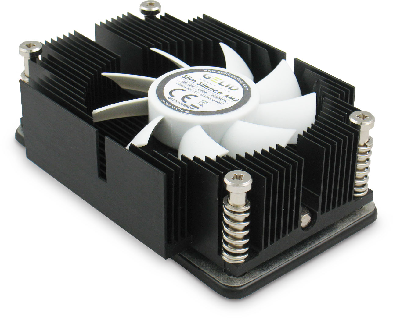 Slim Silence Am2 Low Profile Amd Cpu Cooler