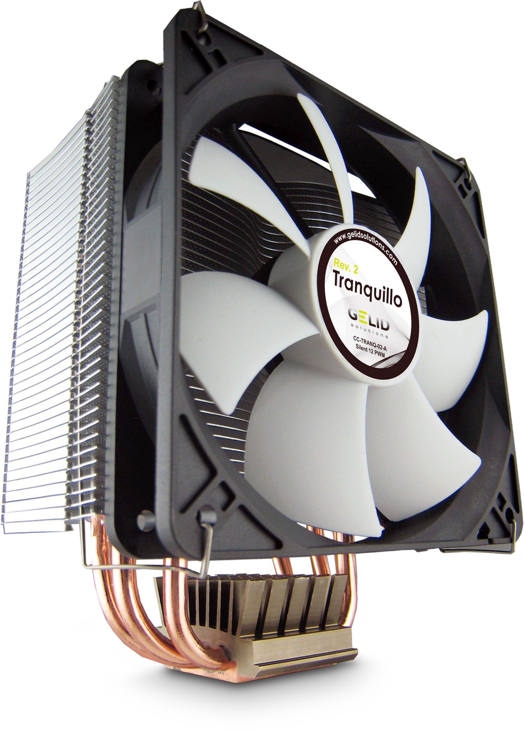 Tranquillo Rev 2 Quiet Cpu Cooler With Pwm Fan