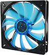 Wing 14 UV Blue 140mm High Performance Case Fan