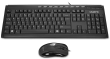 B-Grade GK-KM6150 Wired Elegant Multimedia USB Keyboard and Mouse