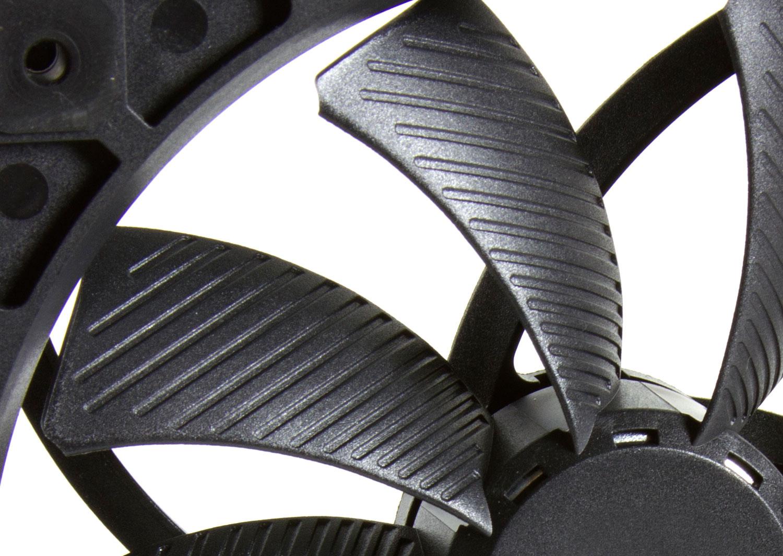 Large Fan Blades : Glidestream mm rpm quiet case fan sy hb l