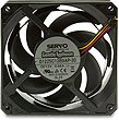 Gentle Typhoon 120mm 4250 RPM Cooling Fan, D1225C12B9AP-30