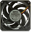 Gentle Typhoon 120mm 5400 RPM Cooling Fan, D1225C12BBAP-31