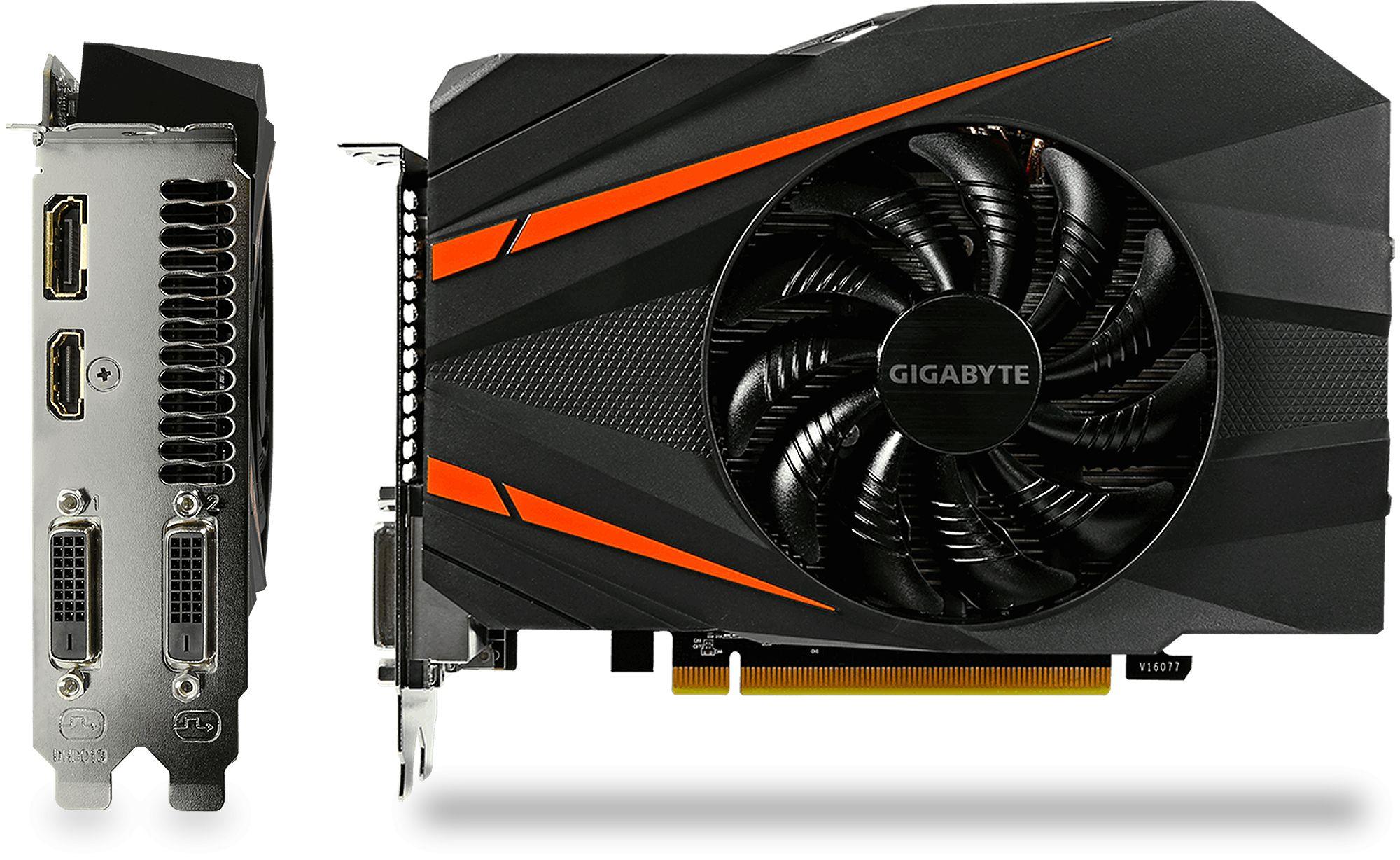 GeForce GTX 1060 Mini ITX OC 3GB GDDR5 Graphics Card