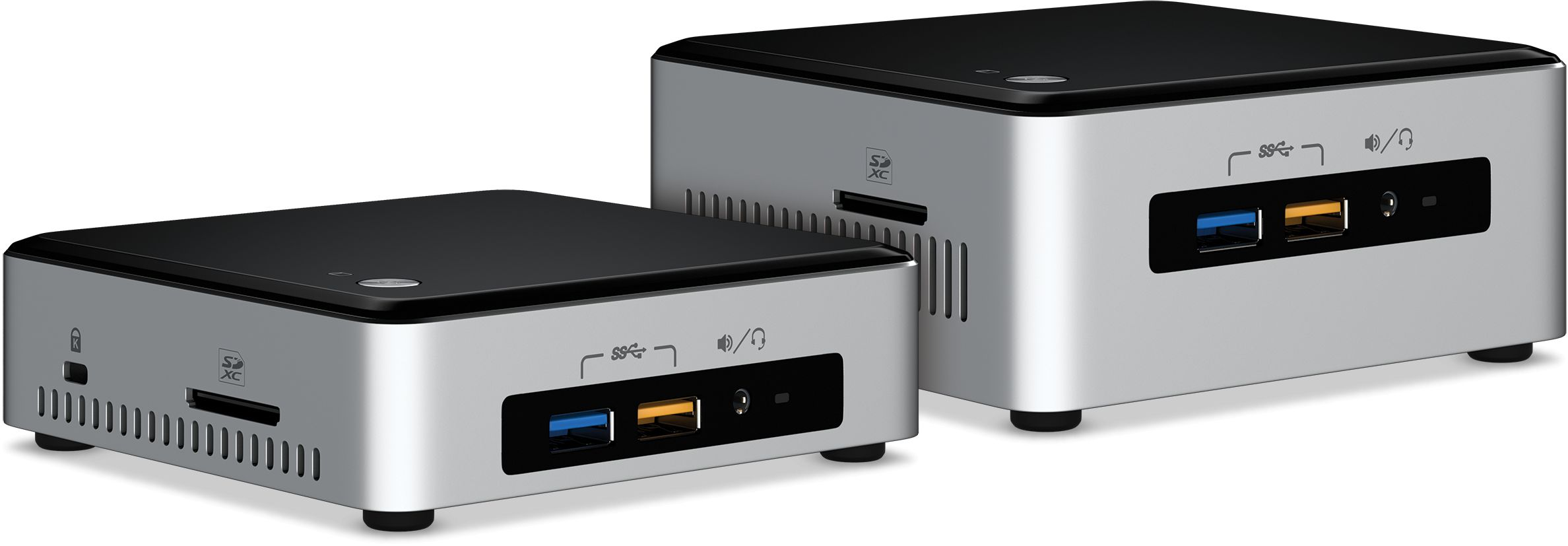 Intel NUC 6th Generation Next Unit of Computing kits