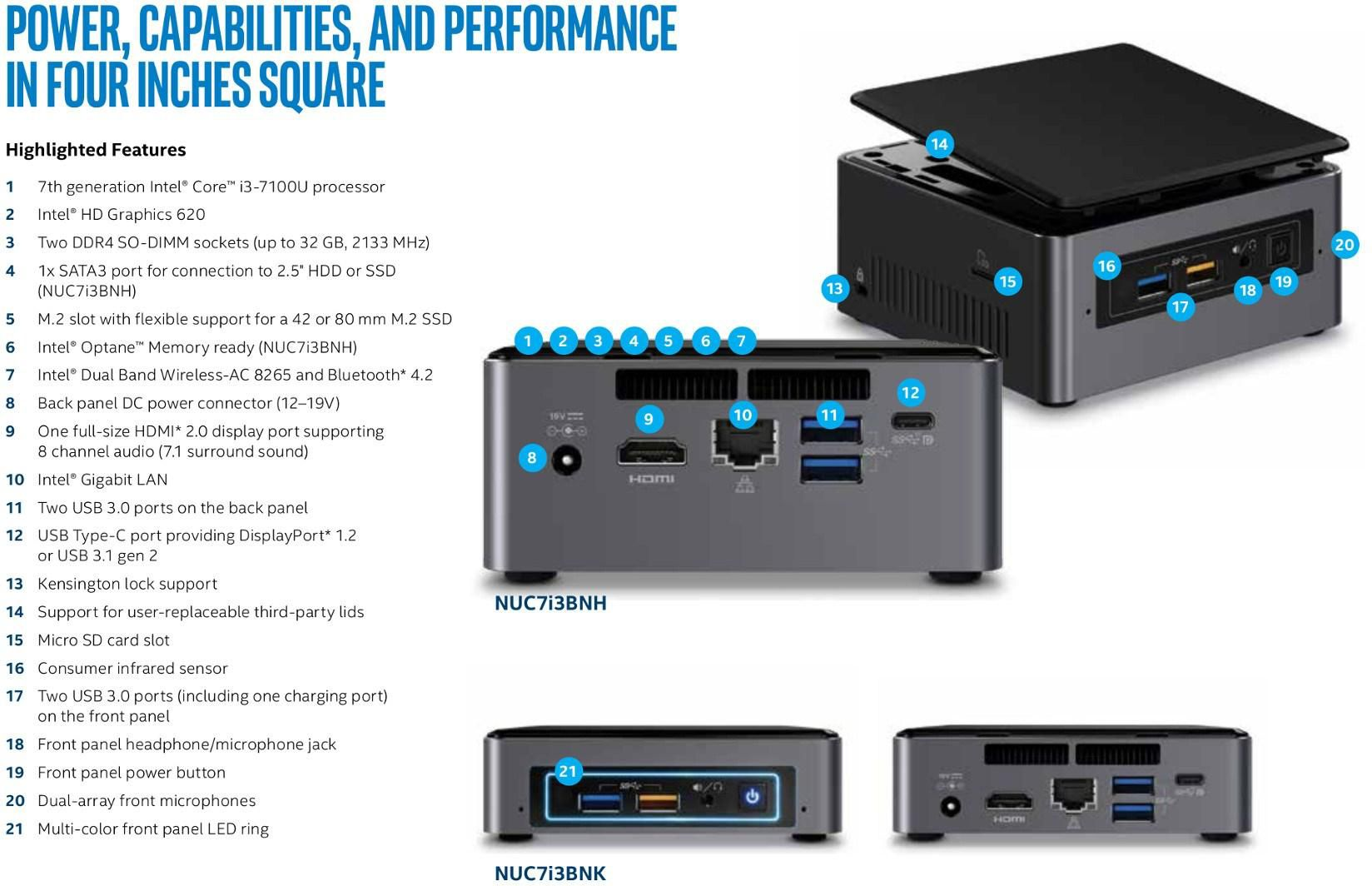 Intel Nuc Add Ons