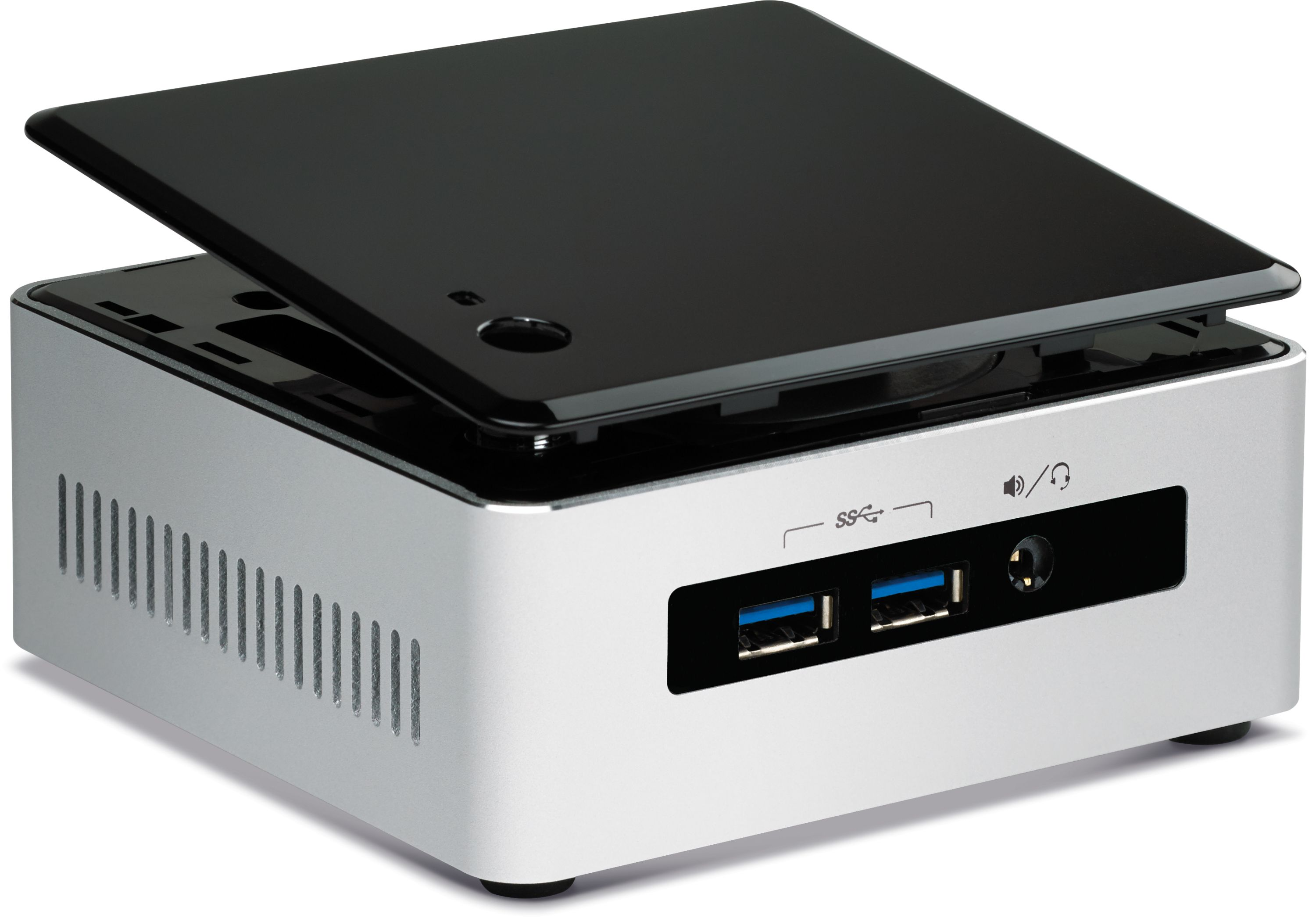 5th gen nuc core i5 5300u nuc5i5myhe supports drive and vpro. Black Bedroom Furniture Sets. Home Design Ideas