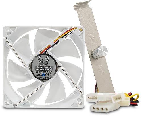 Scythe Kaze White LED Cooling Fan 92mm