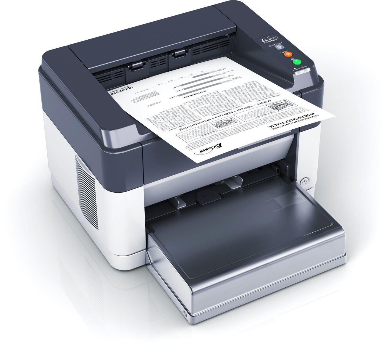 FS-1061DN Compact Quiet Mono A4 Duplex Network Laser Printer