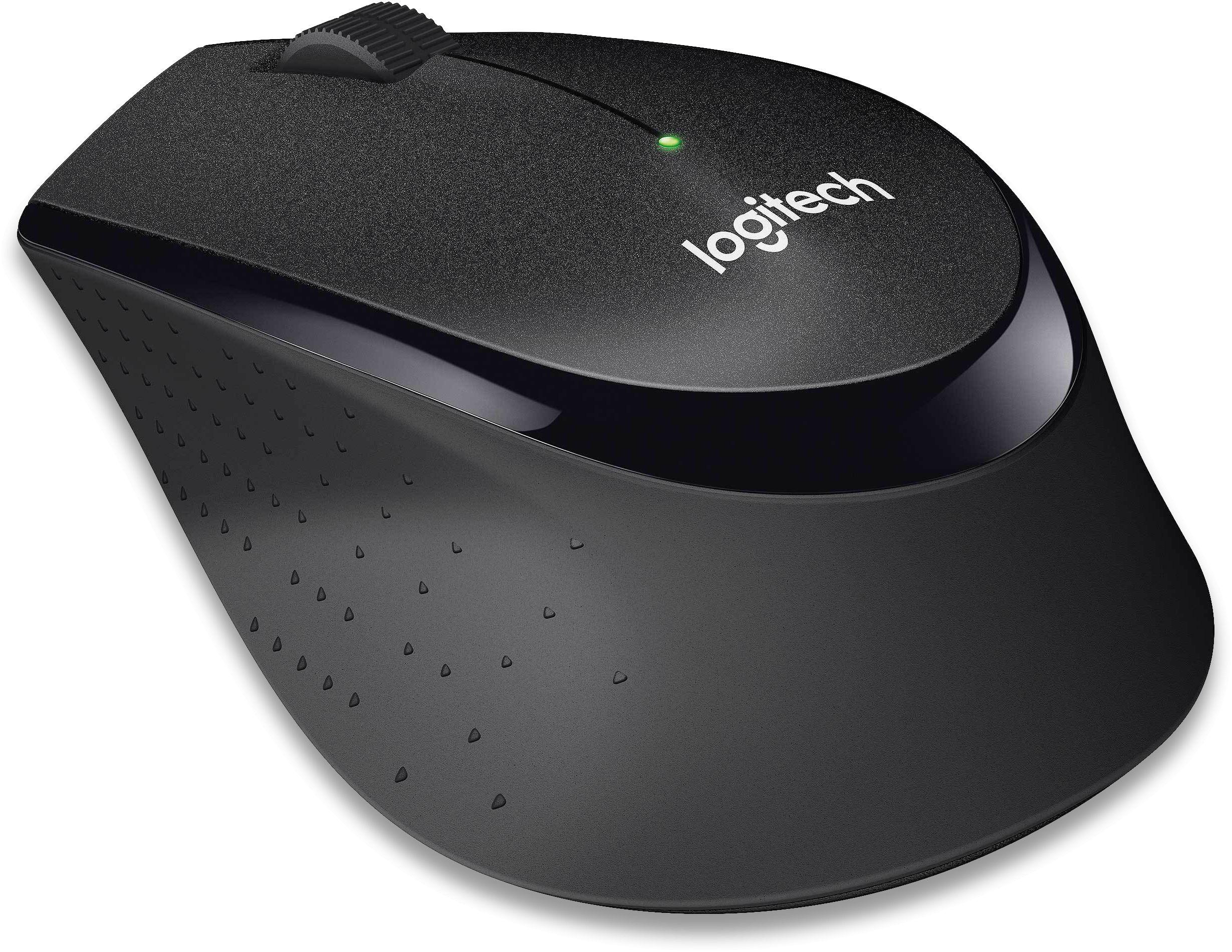 M330 Silent Plus Wireless Mouse, Black